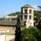 Girona's iconic cloister on Sant Pere de Galligants, Girona Sightseeing Tours